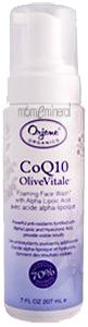 CoQ10 Olive Vitale, Foaming Face Wash with Lipoic Acid, 7 fl oz (200 ml) by Orjene Organics