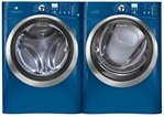 Electrolux Blue Front Load Steam Washer and Steam Electric Dryer EIFLS60JMB ....