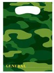 Camouflage Loot Favor Bags 8 Per Pack - 1