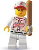 Lego: Minifigures Series 3 > Baseball Player Mini-Figure