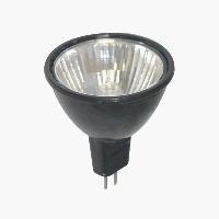 Sunlite 35MR16/FL/12V/BB 35-Watt Halogen MR16 GU5.3 Based Mini Reflector Bulb, Black Back by Sunlite