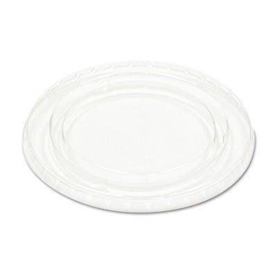 Boardwalk - Crystal-Clear Portion Cup Lids, 5.5 Oz., Clear, 125/Bag, 25/Bags Carton