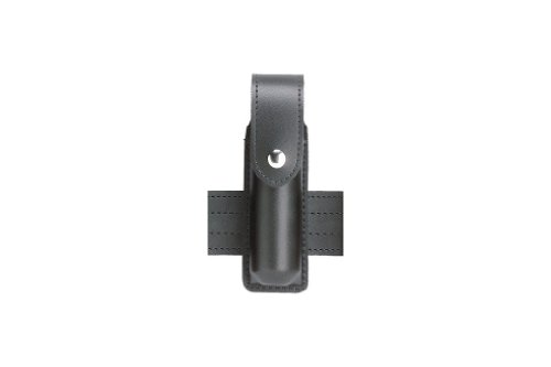 Safariland Duty Gear MK3 Brass Snap OC Pepper Spray Holder (Plain Black)