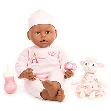 "Baby Annabell Ethnic 18"" Lifelike Baby Doll by Zapf"