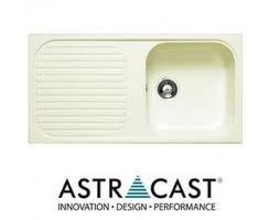 Cream Granite Sink : Astracast MSK Cream/Champagne Composite Granite Kitchen Sink 1.0 Bowl ...