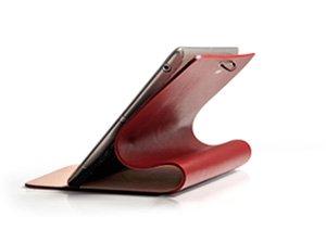 Evouni leather Arc Cover_iPad2/New ipad/iPad3 Top grade Italian calfskin leather - Claret
