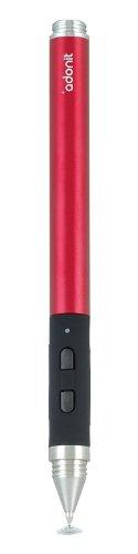 プリンストンテクノロジー Bluetooth搭載筆圧対応スタイラスペン Jot Touch (レッド) JOTT-RD