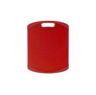 Farberware 11-Inch By 14-Inch Nonslip Cutting Board, Red