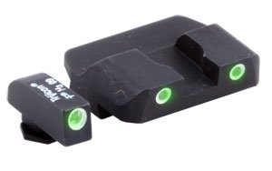 Ameriglo Glock Tritium Sight - Pro Series Night Sights. 3 Dot Green/Green. Model # Gl-233