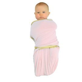 TrueWomb Sleeping Swaddle in Pink - 4.5-8 Pounds - X-Small