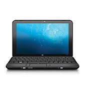 HP Mini 1033CL Notebook (Intel Atom Processor 1.60GHz, 10.2 LED Brightview Infinity Display, 1GB DDR2 RAM, 60GB PATA Unavoidable Drive, Windows XP Home)