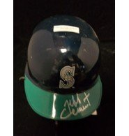 Signed Clement, Matt (Seattle Mariners) Seattle Mariners Mini Helmet autographed by Powers+Collectibles