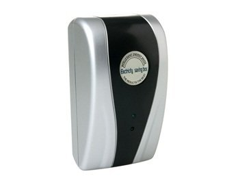Power Saving Electricity Energy Saver Box Us Plug (Silver)