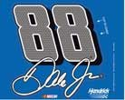 NASCAR Dale Earnhardt Jr WCR88272015 Multi-Use Decal, 4.5″ x 5.75″