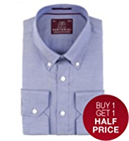 Sartorial Luxury Pure Cotton Oxford Weave Shirt