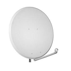 antenne opticum 100 cm alu hellgrau satellitensch ssel. Black Bedroom Furniture Sets. Home Design Ideas