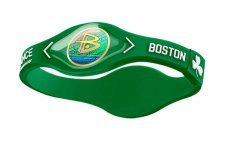 Power Balance Bracelet Wristband Boston Celtics Green w  White Size Large (8... by Power Balance