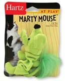 HARTZ MOUNTAIN #32700-82187 Marty Mouse Cat Toy
