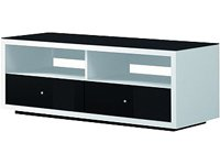 Spectral Just Racks 1.2M Wide Prebuilt Furniture for Any Size Screen - Black /White