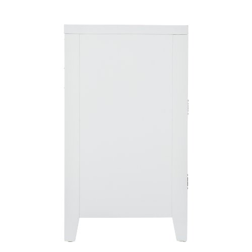 Southern Enterprise Marston TV/Media Stand, White