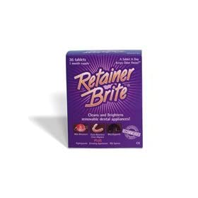 RETAINER BRITE Cleaning Tablets Box of 36