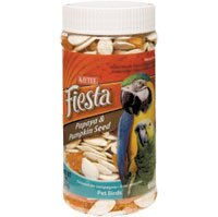 Cheap Kaytee Fiesta Papaya and Pumpkin Seed Bird Treat Jar — 8 oz (B002NC5OL8)