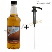 Sweetbird Hazelnut Sugar Free Syrup + Pump