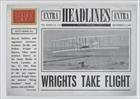 The Wright Brothers (Baseball Card) 2012 Panini Golden Age Headlines #1