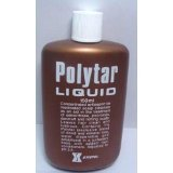 3 Pack Polytar Liquid 150 Ml Concentrated Antispetic Tar Scalp Cleanser