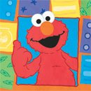 Sesame Street Elmo 'Elmo Loves You' Large Napkins (16ct)