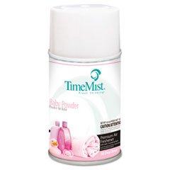 (3 Pack Value Bundle) TMS2512 Metered Fragrance Dispenser Refills Baby Powder 5.3oz