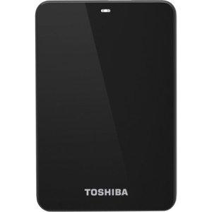 New Toshiba HDTC615XK3B1 New 1.5TB Toshiba Canvio 3.0 Plus Portable Hard Drive in Black; 8MB