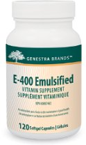 E400 Emulsified (120 Caps) Genestra Brand: Genestra