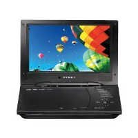 """Dynex DX-D9PDVD 9"""" Portable DVD Player with Dual Screens"""