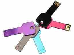 4GB Metal Key USB 2.0 Flash Disk Drive Purple by ZUBER
