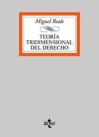 TEORIA TRIDIMENSIONAL DEL DERECHO
