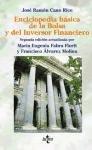 echange, troc Jose Ramon Cano Rico - Enciclopedia basica de la bolsa y del inversor financiero