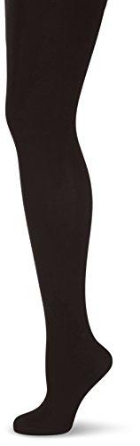 Nur Die Damen Strumpfhose 716604/Thermo, 60 DEN, Gr. 48 (Herstellergröße: 44-48), schwarz (schwarz 094)