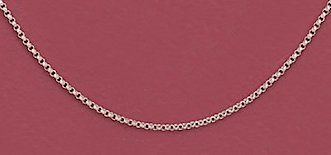 Sterling Silver Necklace, 13 + 1 in Ext., 1mm Rolo Chain, Child-size