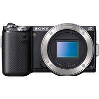 Sony NEX-5N 16.1 MP Compact Interchangeable Lens Camera with Touchscreen - Body Only (Black)
