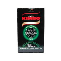 Kimbo Decaff Coffee Pods for Espresso Coffee makers (18 pods)