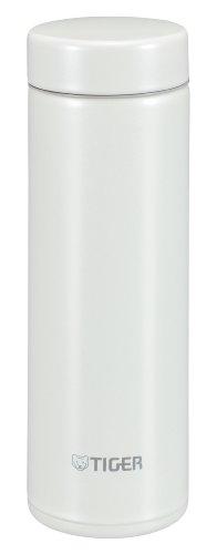 TIGER Stainless Steel Mini bottle <Saharamagu> lightweight dream gravity White 0.3L MMP-G030-WP