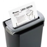 Universal 38036 Shredder Lubricant Sheets, 8-1/2 in. x 6 in., 36 Sheets/Pack