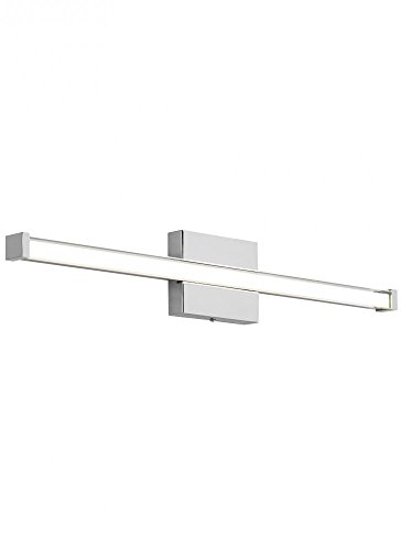 Tech Lighting 700Bcgiar348Cc-Led835 Gia 1 Light Chrome Vanity Lighting
