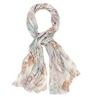 Indigo Collection Lightweight Tapestry Print Scarf