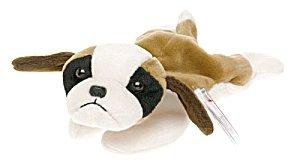 TY Beanie Baby - BERNIE the St. Bernard Dog - 1