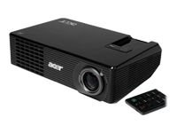 Acer X1160PZ Projector, DLP, SVGA, 2400 ANSI, 2700:1 Contrast, Manual Zoom, Carry Case