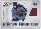 Zach Bogosian Atlanta Thrashers (Hockey Card) 2010-11 Zenith Winter Warriors Material #ZB
