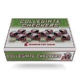 NCAA Washington State Cougars Miniature Helmets Checker Set