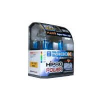 Hipro Power H11 5900K 55 Watt Super White Xenon HID Headlight Bulb - Low Beam